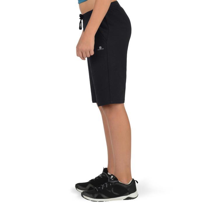 Short 500 Gym garçon noir