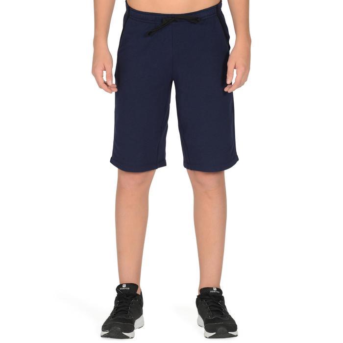 Short 500 Gym garçon marine - 1326567