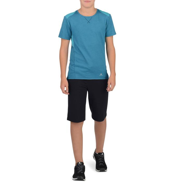 Short 500 Gym garçon marine - 1326572