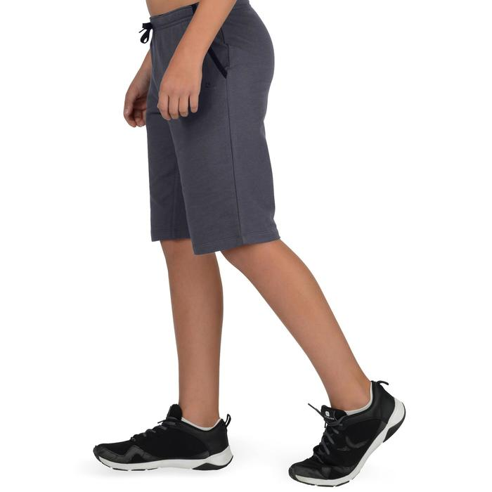 500 Boys' Gym Shorts - Grey - 1326573