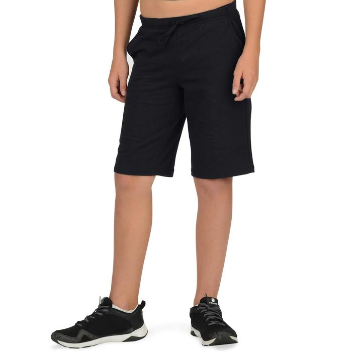 Short 500 Gym garçon marine - 1326577