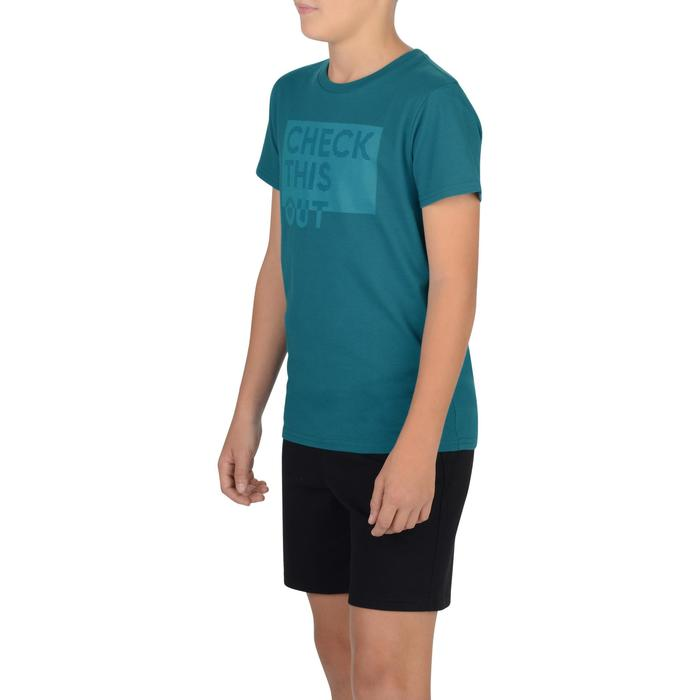 T-Shirt manches courtes 100 Gym garçon imprimé - 1326607
