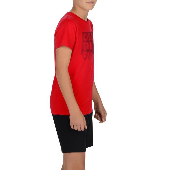 T-Shirt manches courtes 100 Gym garçon imprimé - 1326612