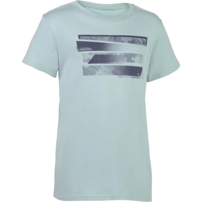 T-Shirt manches courtes 100 Gym garçon imprimé - 1326620