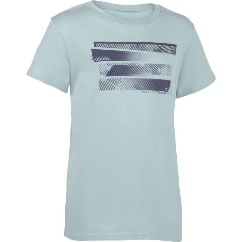 BOY EDUCATIONAL GYM APPAREL - 100 Short-Sleeved Gym T-Shirt DOMYOS