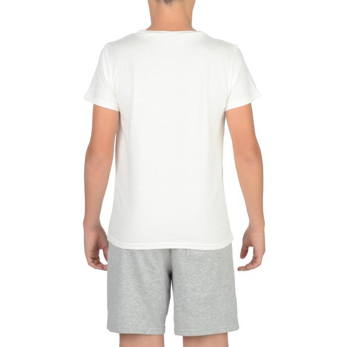 T-Shirt manches courtes 100 Gym garçon imprimé - 1326624
