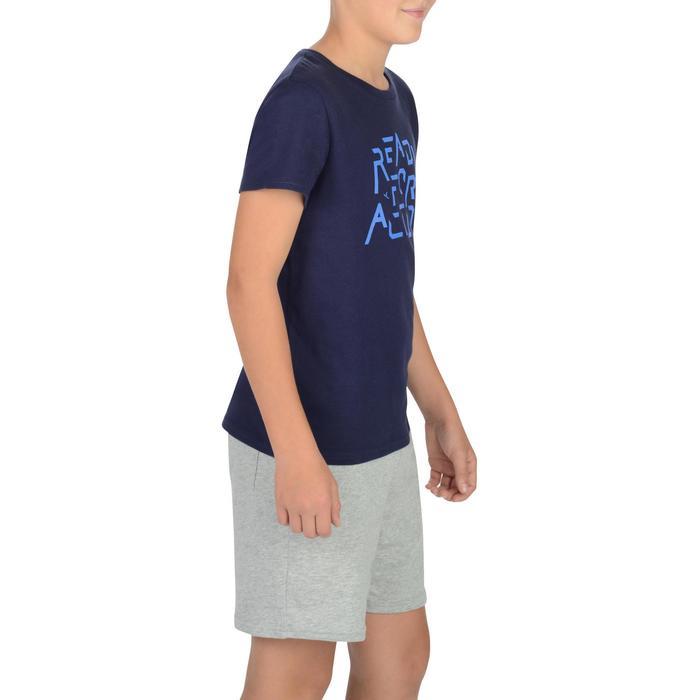 T-Shirt manches courtes 100 Gym garçon imprimé - 1326629
