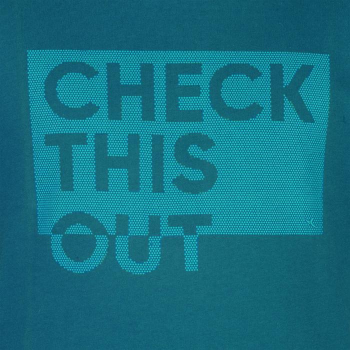 T-Shirt manches courtes 100 Gym garçon imprimé - 1326631