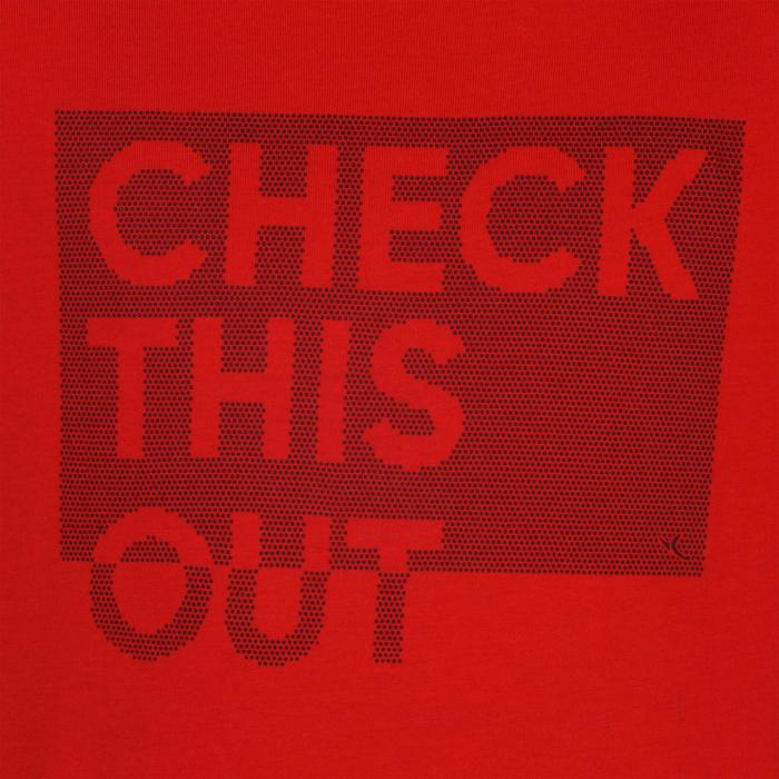 T-Shirt manches courtes 100 Gym garçon imprimé - 1326632