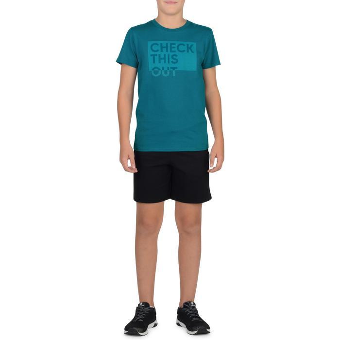 T-Shirt manches courtes 100 Gym garçon imprimé - 1326641