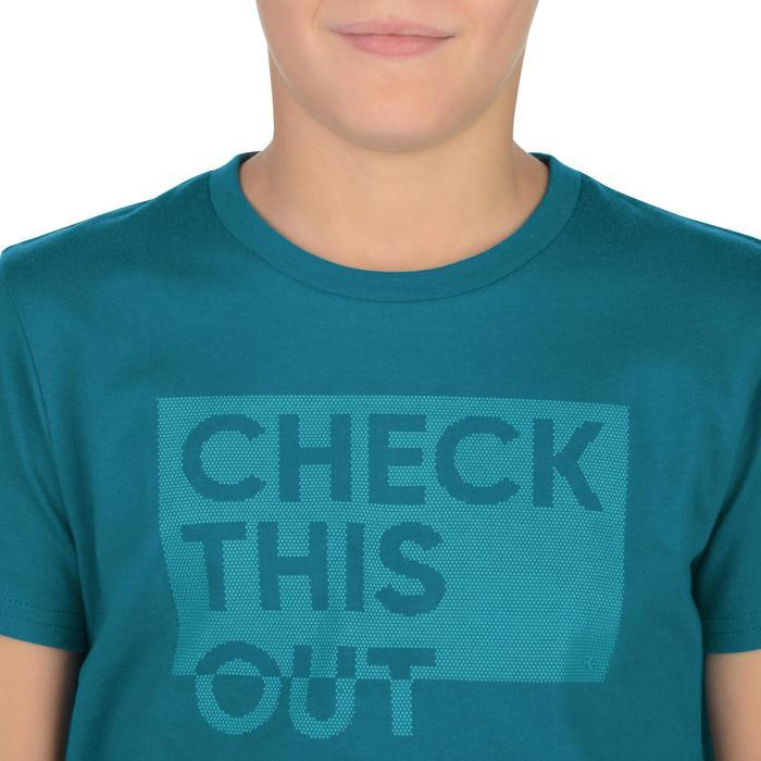 T-Shirt manches courtes 100 Gym garçon imprimé - 1326645