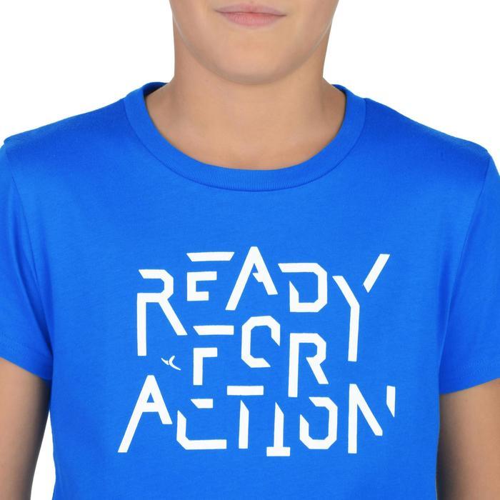 T-Shirt manches courtes 100 Gym garçon imprimé - 1326655
