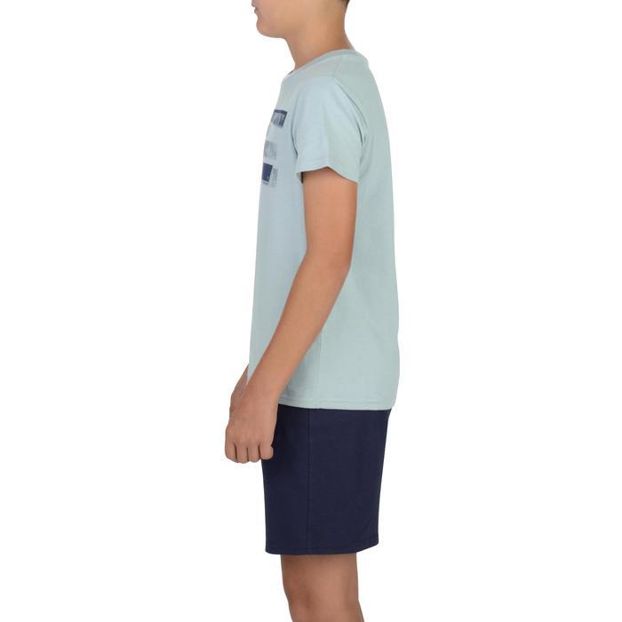 T-Shirt manches courtes 100 Gym garçon imprimé - 1326661