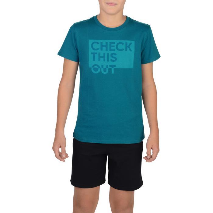 T-Shirt manches courtes 100 Gym garçon imprimé - 1326662
