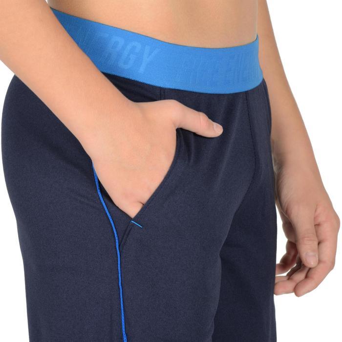 Sporthose kurz S900 Gym Kinder blau