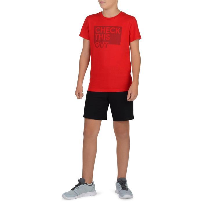 T-Shirt manches courtes 100 Gym garçon imprimé - 1326676