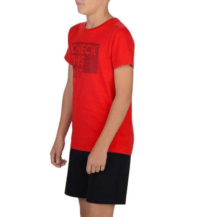 T-Shirt manches courtes 100 Gym garçon imprimé - 1326714