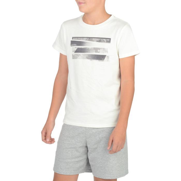 T-Shirt manches courtes 100 Gym garçon imprimé - 1326716