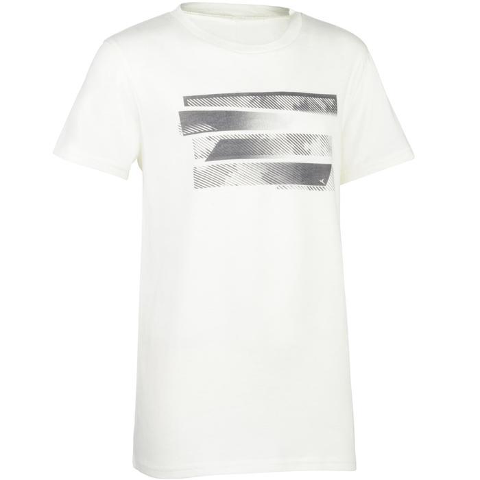 T-Shirt manches courtes 100 Gym garçon imprimé - 1326719