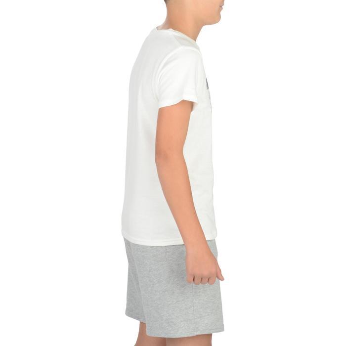 T-Shirt manches courtes 100 Gym garçon imprimé - 1326722
