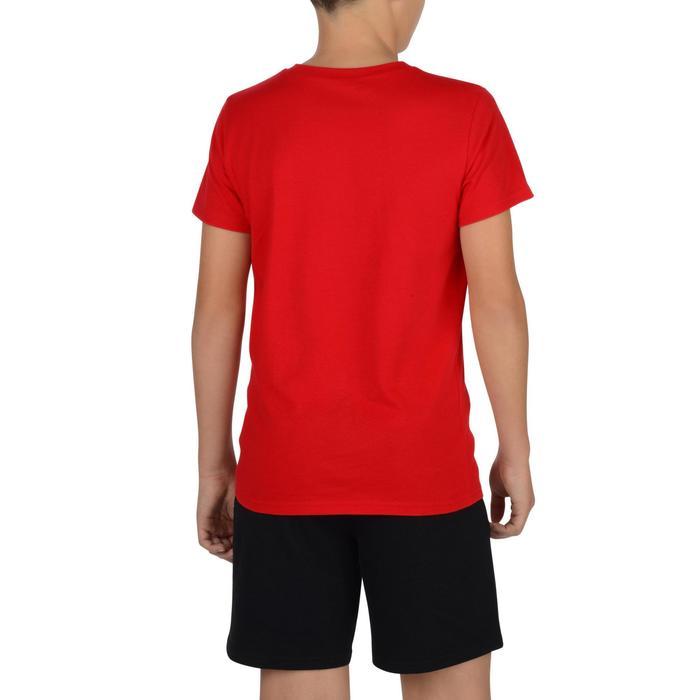 T-Shirt manches courtes 100 Gym garçon imprimé - 1326731