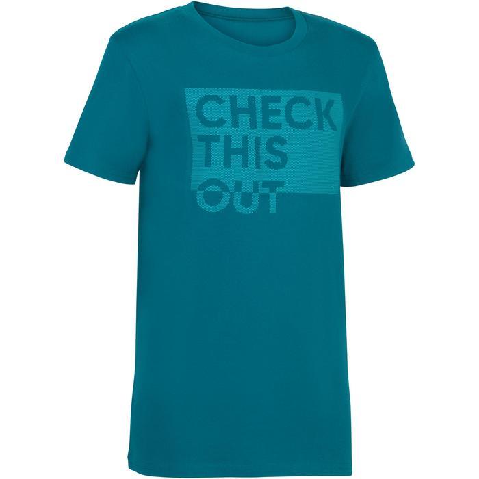 T-Shirt manches courtes 100 Gym garçon imprimé - 1326732