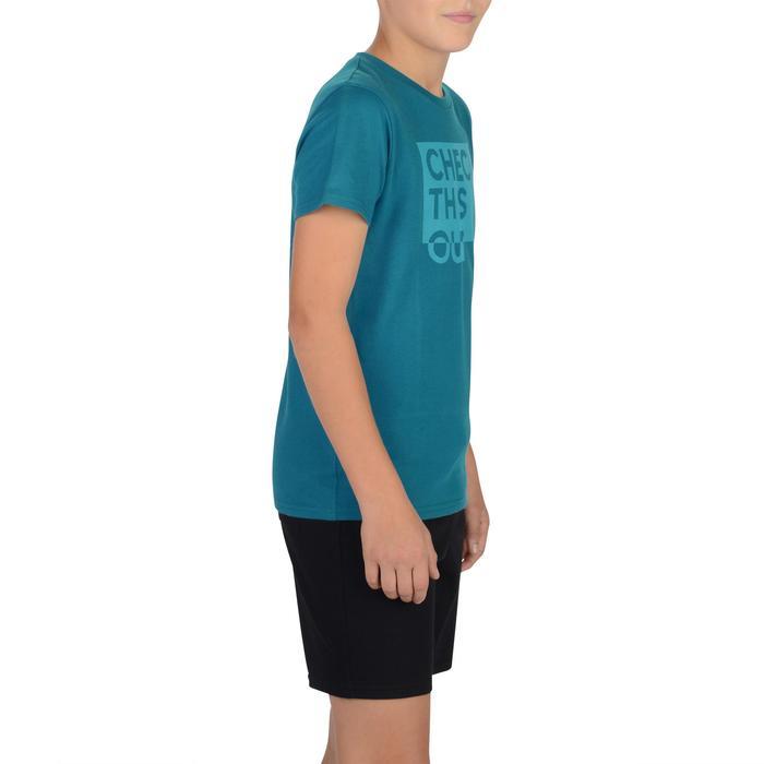 T-Shirt manches courtes 100 Gym garçon imprimé - 1326733