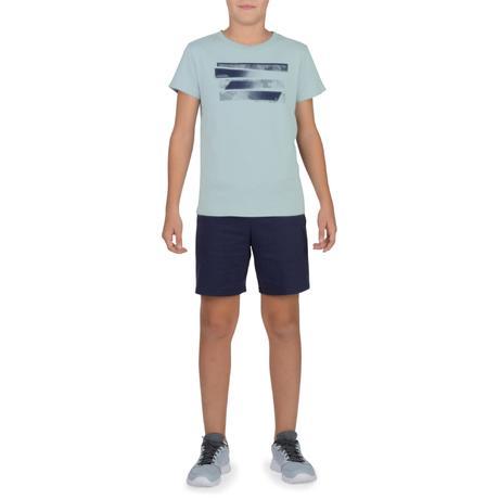 T-Shirt 100 manches courtes Gym Garçon imprimé gris. Previous. Next 833c0f1666d