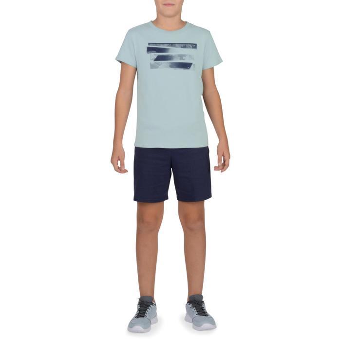 T-Shirt manches courtes 100 Gym garçon imprimé - 1326734