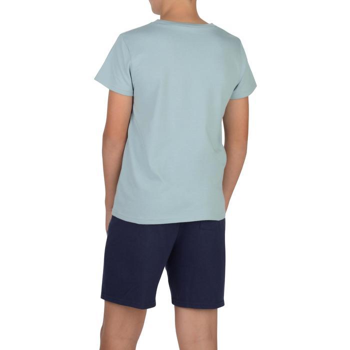 T-Shirt manches courtes 100 Gym garçon imprimé - 1326736