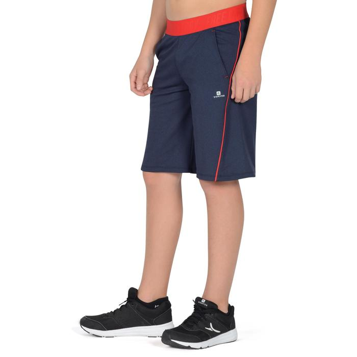 Short 960 Gym Garçon bleu rouge