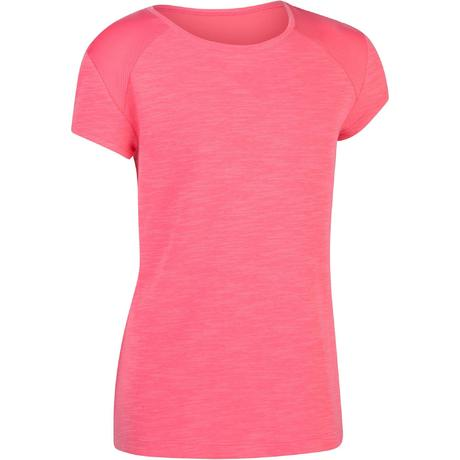 Courtes Gym 560 Rose T Shirt Fille Manches n0OPX8wk