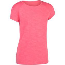 Girls' 560 Short-Sleeved Gym T-Shirt - Pink