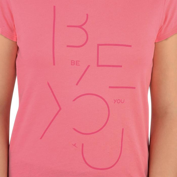 T-Shirt manches courtes 100 Gym fille imprimé - 1326746