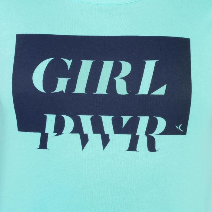 T-Shirt manches courtes 100 Gym fille imprimé - 1326755