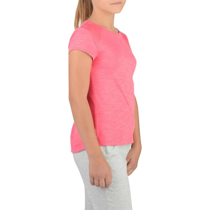 T-Shirt manches courtes S500 Gym Fille - 1326781