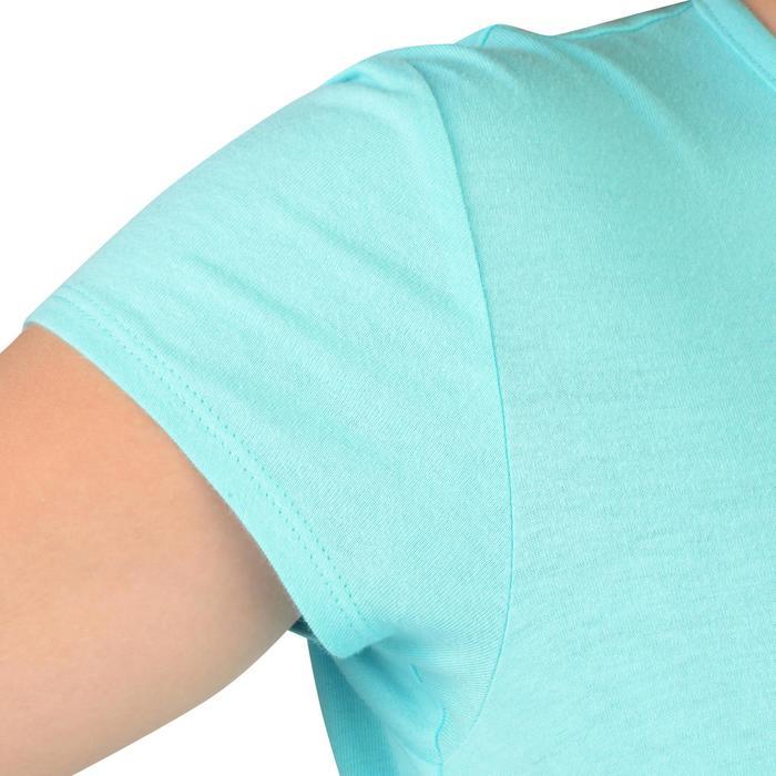 T-Shirt manches courtes 100 Gym fille imprimé - 1326797