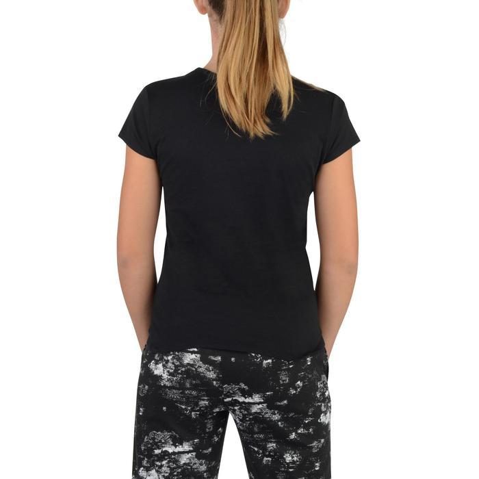 T-Shirt manches courtes 100 Gym fille imprimé - 1326799