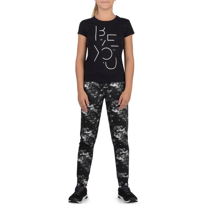 T-Shirt manches courtes 100 Gym fille imprimé - 1326803