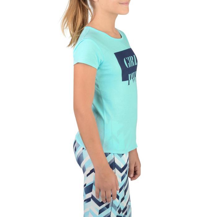 T-Shirt manches courtes 100 Gym fille imprimé - 1326807