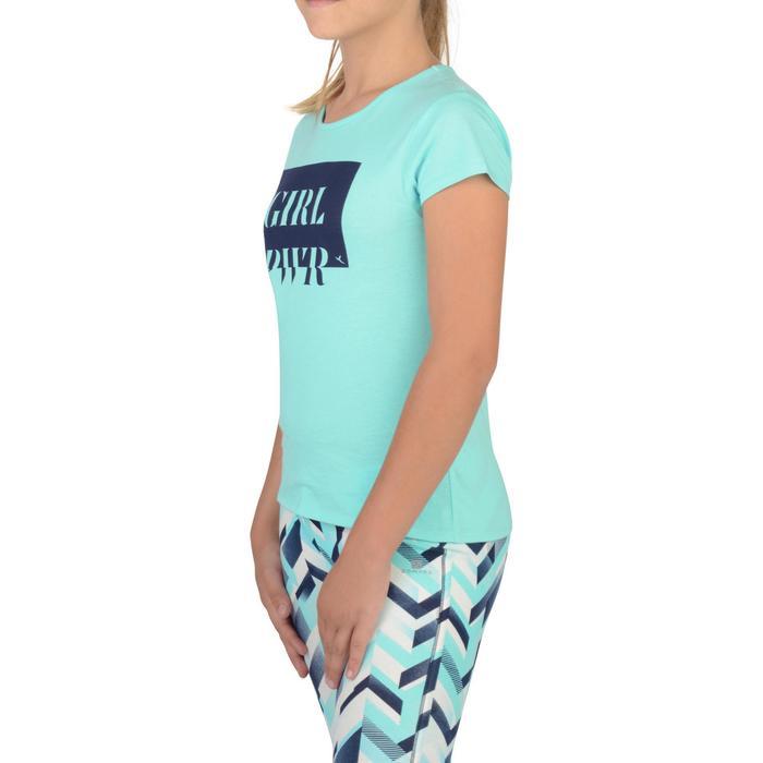 T-Shirt manches courtes 100 Gym fille imprimé - 1326812