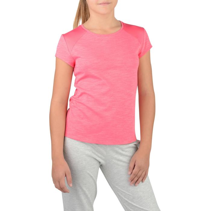 T-Shirt manches courtes S500 Gym Fille - 1326832