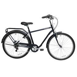 """26"""" Elops 120 City Bike - Black"""