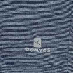 Camiseta Sin Mangas Deportiva Gimnasia Domyos 500 Niño Gris