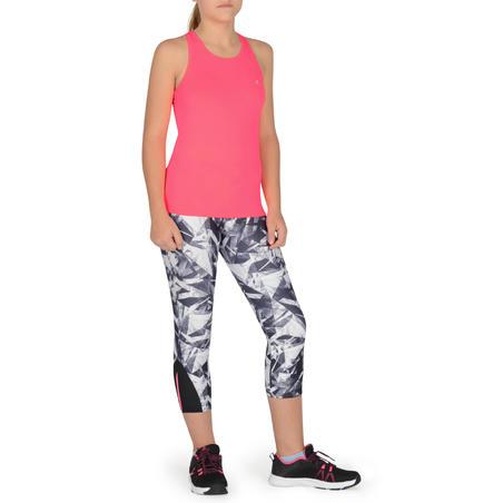 """S900 """"My Little Top"""" mergaičių sportiniai berankoviai marškinėliai – rožiniai"""