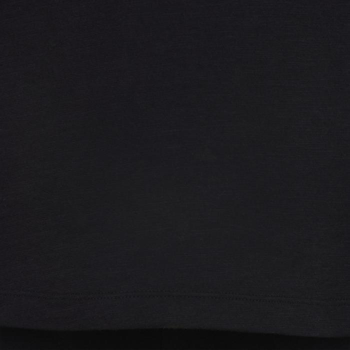 Débardeur 500 Gym Fille noir rose