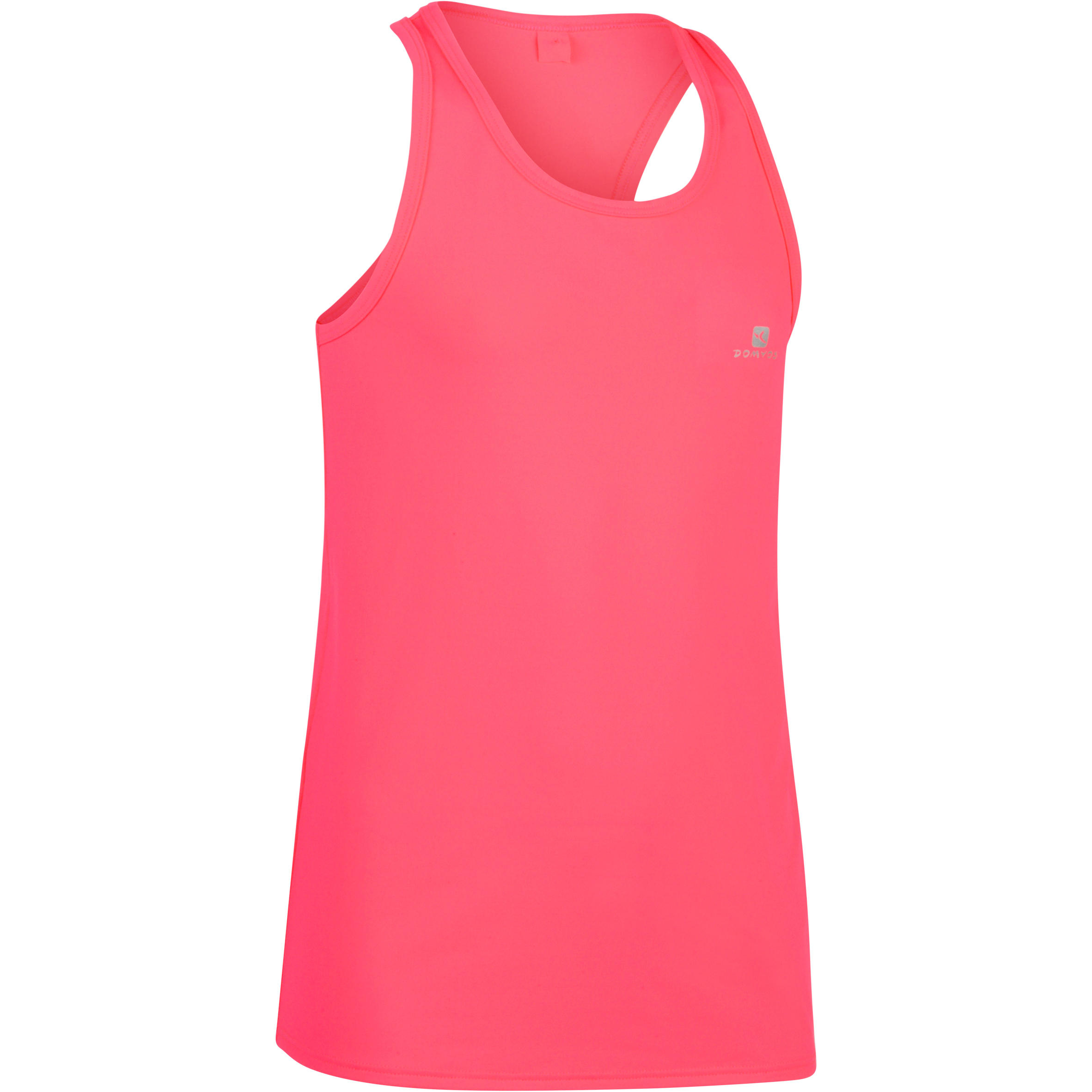 Playera sin mangas 560 gimnasia niña rosa My Little Top