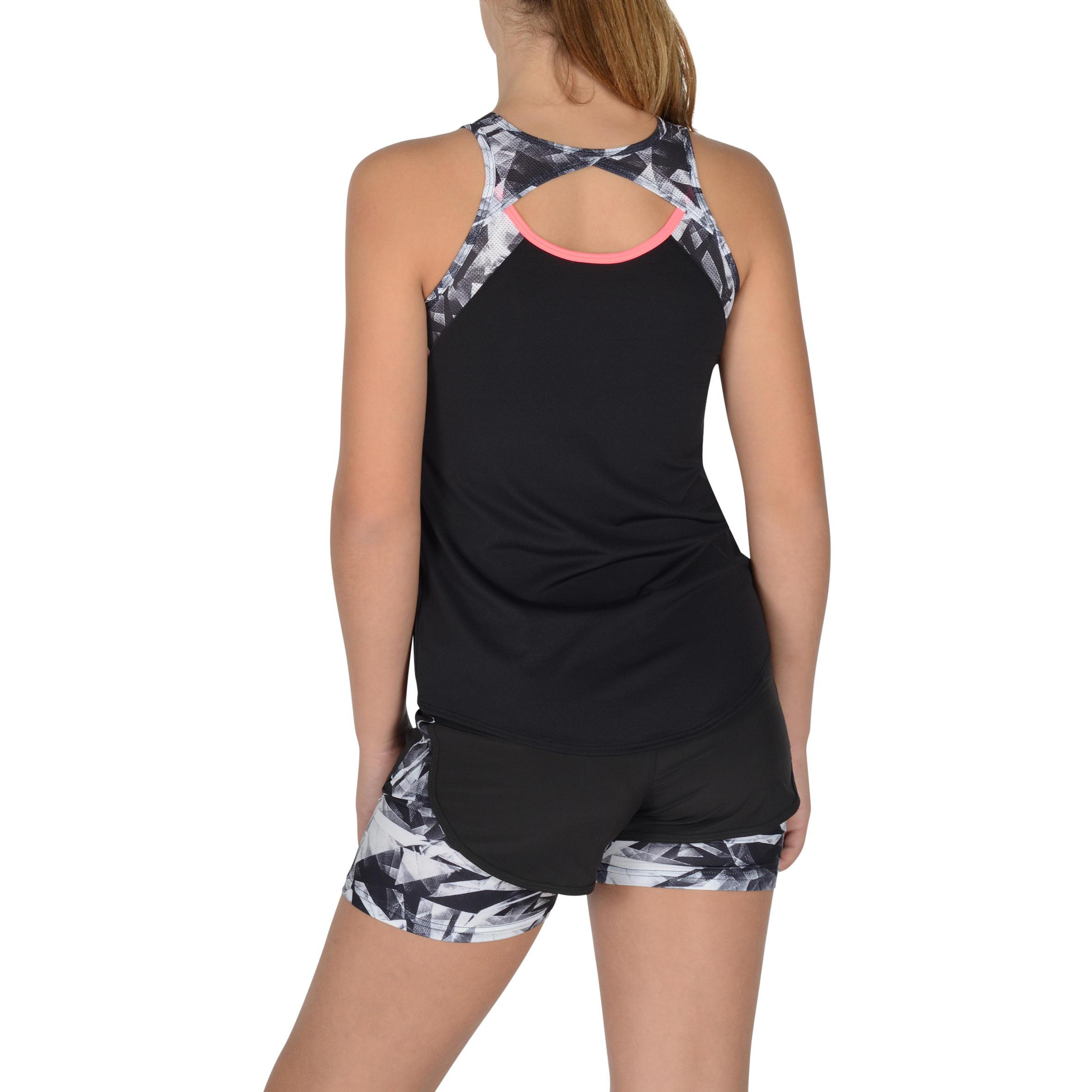 960 Girls' Gym Tank Top - Black
