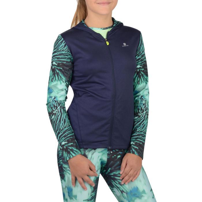 Veste zippée capuche Gym Energy fille - 1326895