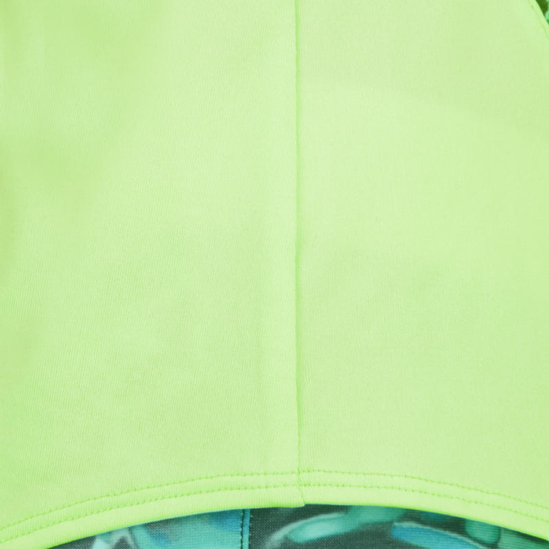 S900 Girls' Gym Tank Top - Green Print